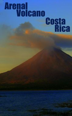 Arenal Volcano is the most famous in Costa Rica -  http://costa-rica-guide.com/top-10/arenal-volcano-top10/