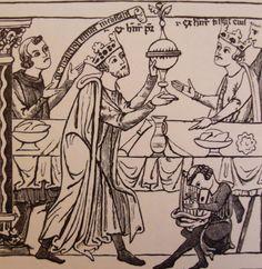 13th-century royal table