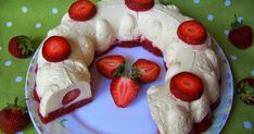 Archívy Recepty - Page 7 of 58 - Nápady-Návody. Pavlova, Something Sweet, Tupperware, Sweet Recipes, Sweet Tooth, Cheesecake, Food And Drink, Strawberry, Pudding