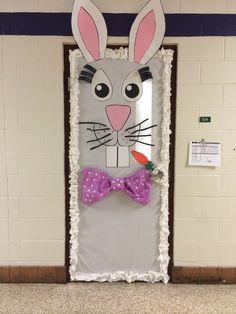Easter bunny door