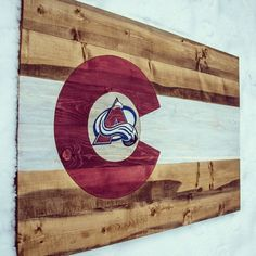 Colorado-inspired home decor! #handcrafted #avalanche #colorado