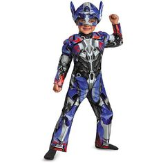 Transformers Optimus Prime Toddler Costume 2-piece set (Muscle Jumpsuit Soft Headpiece) Size:  2T swipe left for measurements : : : #Transformers #OptimusPrime #toddlercostume #boyscostume #toddler #halloweencostume #boyswear #onlineshoppingph #oshavailableitems