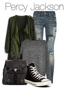"""""""Percy Jackson"""" by the-wonders-fashion ❤ liked on Polyvore featuring Polo Ralph Lauren, Chicwish, French Connection, Proenza Schouler, Converse, percyjackson and themed"""