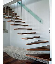 Wow check out this neat photo - what an original conception Installing Hardwood Floors, Engineered Hardwood Flooring, Dream Home Design, House Design, Stairway To Heaven, Red Oak, Architectural Elements, Interior Design Inspiration, Stairways