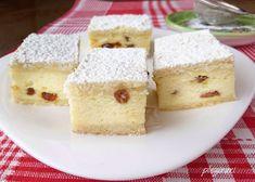 Placinta cu branza dulce si stafide Deli, Cornbread, Sweet Treats, Recipies, Dairy, Cheese, Cooking, Ethnic Recipes, Desserts