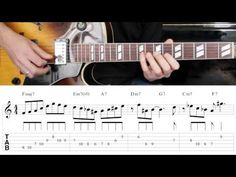 Jazz Guitar Lesson #29 - Progression #3 (Blues for Ali) - Improvisation #5