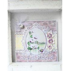 knipvel MB0152 Mattie's Mooiste Summerflowers 1 | craftable CR1319 Hartelijk Gefeliciteerd | #mariannedesign