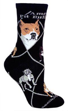 American Pit Bull Terrier Socks