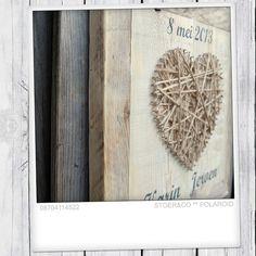 Super origineel trouw cadeau van oa steigerhout!