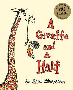 From Shel Silverstein, the New York Times bestselling creator of Where the Sidewalk Ends and The Giving Tree, comes a riotous rhyming picture book about a boy and his giraffe!Featuring rhythmic verse and iconic illustrations, A Giraffe and a Hal. Great Books, New Books, Shel Silverstein Books, Rhyming Pictures, Where The Sidewalk Ends, The Giving Tree, Thing 1, Animal Books, Fun Activities For Kids