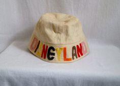 878a1a24f60 Vintage Disneyland Sailor Hat by VermontVintageJunkie on Etsy