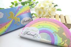 Too faced unicorn! Rock out on unicorn love with this delightful palette. This rainbow box from Too Faced consists of twelve cool eye shadow tones, with a nice mix of pearly and matte textures plus a hint of orange scent. You'll fall in love! Unicorn Eyeshadow, Discount Perfume, Discount Beauty, Makeup Palette, Cool Eyes, Eye Shadow, Rainbow, Skin Care, Rock