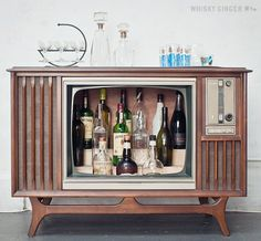Transform an Old TV #homedecor #upcycle