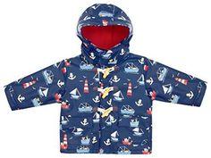 0a6214dea NEW JoJo Maman Bebe Baby Boys' Fisherman's Jacket, Nautical, 18 24 Months #