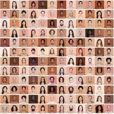 Photographer Angelica Dass Matches Skin Tones With Pantone Colors | iGNANT.de