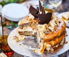 Banoffee birthday party cake By Nadia Lim