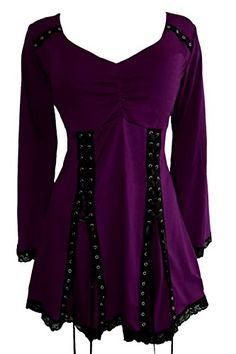 Dare To Wear Gothic Victorian Boho Women's Plus Size Elec... https://smile.amazon.com/dp/B009NKVI8G/ref=cm_sw_r_pi_dp_x_FdhyybM41CMYK