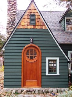 Arch and Round Top Exterior Door | G165RTCP Model | www.VintageDoors.com