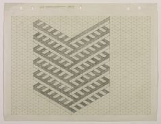Carl Andre, 'Drawing for 'The Perfect Painting', 1967