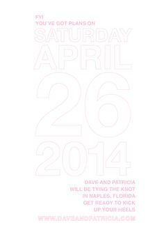 save + the + date + pink