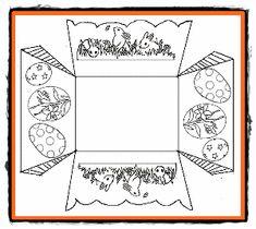 sablon cosulet pasti de colorat si decupat.gif (300×268) Mandala, Education, Paste, Cards, Google, Figurine, Maps, Onderwijs, Learning
