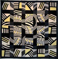 Brita Been, tapestry, HOMMAGE À nora g I  2002 245 x 245 cm