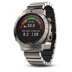 0f10b9e510f4 Garmin Fenix Chronos reloj deportivo elegante GPS titanio con reloj híbrido  de titanio cepillado Banda Sport