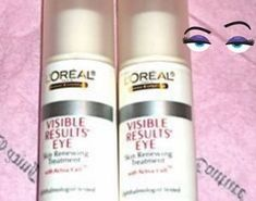 L'Oreal eye cream Visible Results Eye Treatment facial Skin Care LOT x2