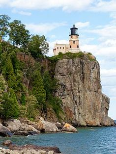 Split Rock Lighthouse / state park on Lake Superior north of Duluth, MN. up the North Shore.