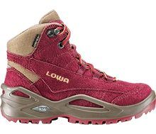 LOWA Frankie GTX Mid. New! LOWA's best-selling hiking boots are now available for KIDS. With the same top quality leathers and high-tech components you'll find in our grown up shoes.