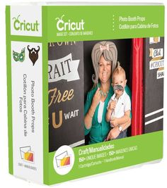 Cricut Cartridge Photo Booth Props