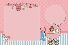 Baby Girl Free Printable Invitations.