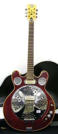 Lot 32 – Dobro Maosrite of California D-40 « Guitar Auctions – Specialists in Fine, Rare, Antique, Vintage & Later Guitars