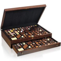The Chocolatier's Humidor.This is what I call a box of chocolates.