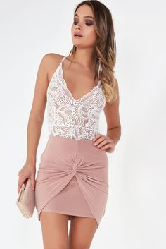 Looking for a new skirt? Check out our edit of skirts for women including high waisted skirts, lace up skirts, pleated skirts and many more! Lace Up Skirt, Pleated Skirt, High Waisted Skirt, Knot, Formal Dresses, Skirts, Pink, Shopping, Collection