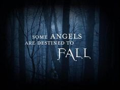Some angels are destined to FALL< The Act of Falling is a central tenet of our core belief in equality; it is a primary dedication to humanity to be on the same plane to love, empathize and evolve together as one.