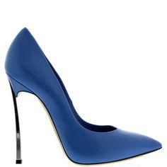 #Casadei - #blue #pumps