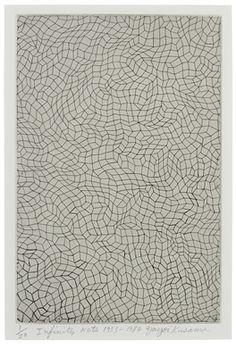 YAYOI KUSAMA, Infinity Nets, 1953-1984, etching