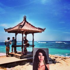 An awesome Virtual Reality pic! Gloria our dear Gloria in #Bali ! What a #funtrip ! #BornNowhere #socialmediaart #beaches #indonesiabeach #summer #friends #characters #fluidityofidentity #thepowerofnow #colourful #coulorsofnature #coulorsoflife #sexywoman #girls #bff #mylife #virtualreality #blessed #blessedsunday by bornnowhere check us out: http://bit.ly/1KyLetq