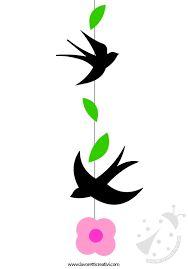Risultati immagini per silhouette fiori di pesco
