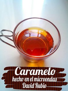 Caramelo hecho en el microondas | Cocina Salsa Dulce, Microwave Recipes, Microwave Food, Cuban Recipes, Mexican Dishes, Punch Bowls, Cooking Tips, Food And Drink, Tasty