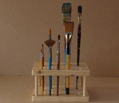 Artist's Paint Brush Holder / Stand PERSONALISED by CorinaHogan, €19.95