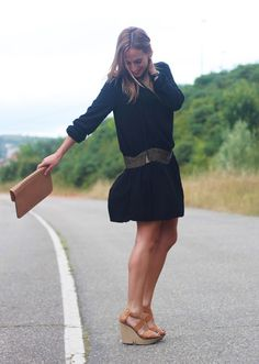 Vestido negro boho | Looks and shoes