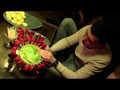 Букеты из овощей - YouTube