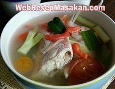 Sup Ikan Kakap Kuah Bening Sup Ikan Resep Sup Resep Masakan