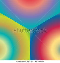 Radial Gradient Colors - buy this illustration on Shutterstock & find other images.