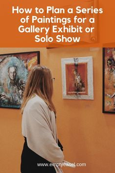 Learn how to plan a series of paintings for a gallery exhibit or solo show. Learn how to plan a series of paintings for a gallery exhibit or solo show. Book Sculpture, My Art Studio, Selling Art, Art Market, Art Techniques, Artist Art, Installation Art, Art Lessons, Les Oeuvres