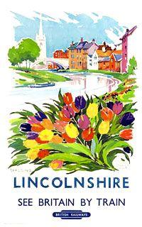 Lincolnshire : See Britain by Train : British Railways.