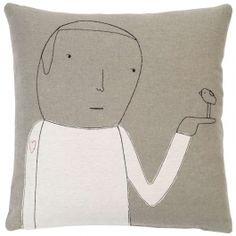 k studio Heart on Sleeve Pillow at DesignPublic.com