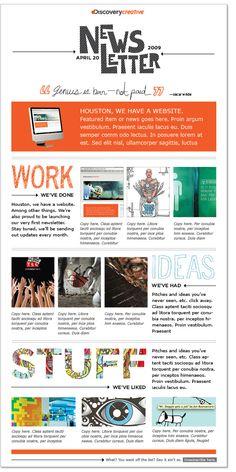 Email newsletter design   Graphisme - newsletter   Pinterest ...
